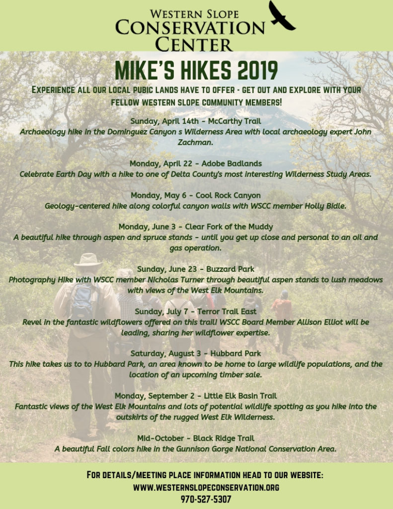 e599ae186 Mike's Hikes #6 - Terror Trail: Sunday, July 7th - Western Slope ...